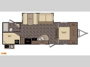 Sunset Trail Super Lite ST270BH Floorplan Image