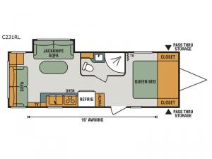 Connect Lite C231RL Floorplan Image