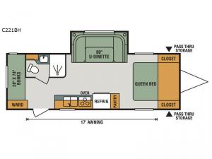 Connect Lite C221BH Floorplan Image