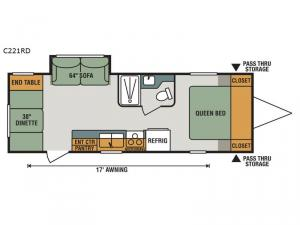 Connect Lite C221RD Floorplan Image