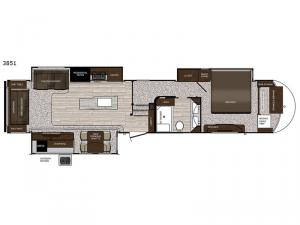 Sanibel 3851 Floorplan Image