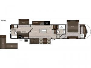 Sanibel 4000 Floorplan Image