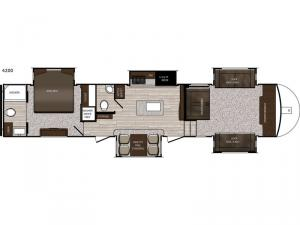 Sanibel 4200 Floorplan Image