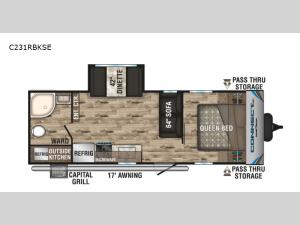 Connect SE C231RBKSE Floorplan Image