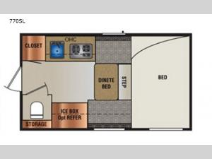 Super Lite 770SL Floorplan Image