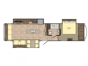 Cruiser CR3391RL Floorplan Image