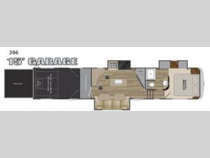 Road Warrior 396 Floorplan Image
