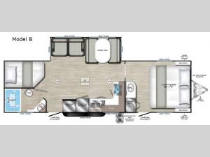 Evoke Model B Floorplan Image
