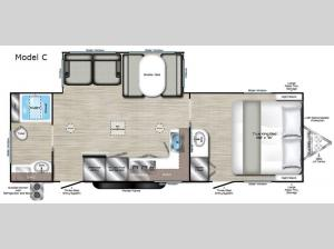 Evoke Model C Floorplan Image