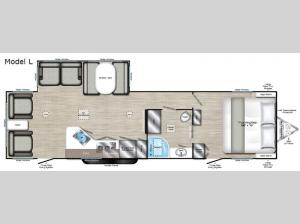 Evoke Model L Floorplan Image