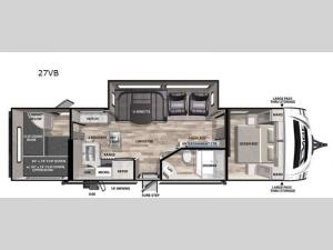 Vibe 27VB Floorplan Image
