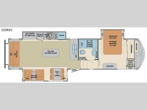 Columbus Compass 320RSC Floorplan Image