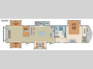 Columbus Compass 384RDC Floorplan Image