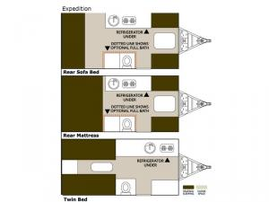Expedition Std. Model Floorplan Image