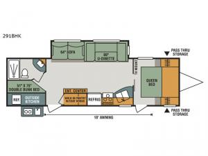 Sportsmen 291BHK Floorplan Image