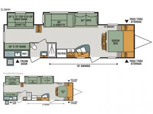 Sportsmen 312BHK Floorplan Image