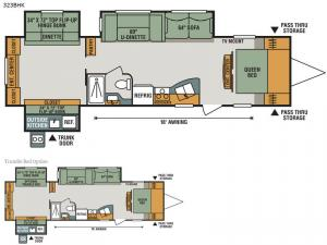 Sportsmen 323BHK Floorplan Image
