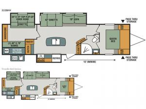 Sportsmen 333BHK Floorplan Image