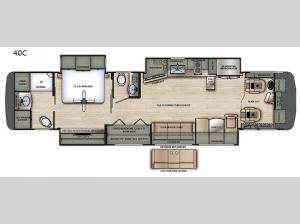 Berkshire XL 40C Floorplan Image