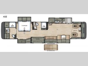 Berkshire XL 40E Floorplan Image