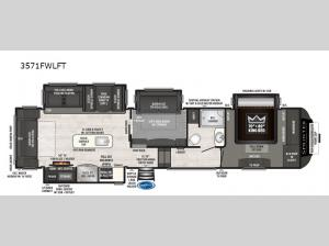 Sprinter 3571FWLFT Floorplan Image