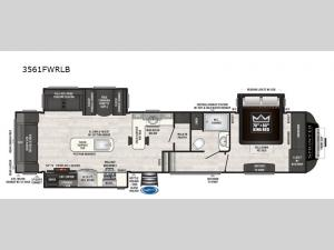 Sprinter 3561FWRLB Floorplan Image
