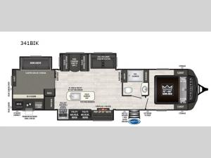 Sprinter 341BIK Floorplan Image