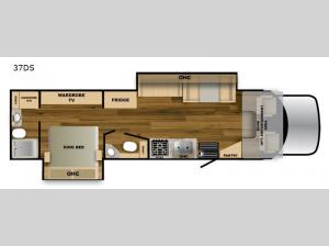 Ghost 37DS Floorplan Image