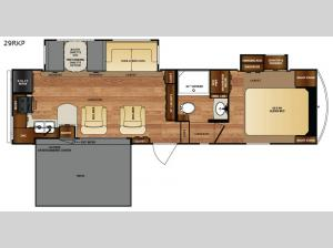 Wildcat 29RKP Floorplan Image
