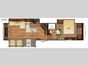 Wildcat 327RE Floorplan Image