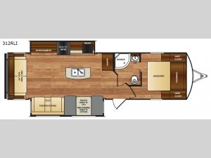 Wildcat 312RLI Floorplan Image