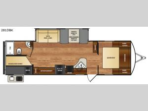 Wildcat 281DBK Floorplan Image