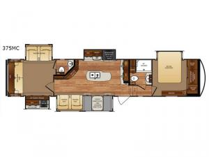 Wildcat 375MC Floorplan Image