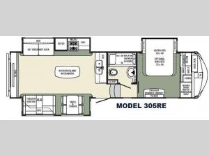 Columbus F305RE Floorplan Image