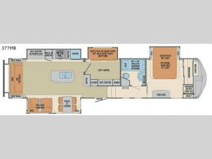 Columbus F377MB Floorplan Image