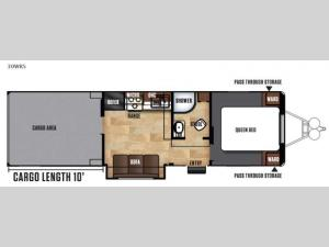 Work and Play FRP Series 30WRS Floorplan Image