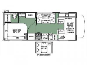 Forester 2301 Ford Floorplan Image