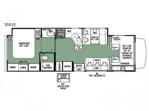 Forester 3051S Ford Floorplan Image