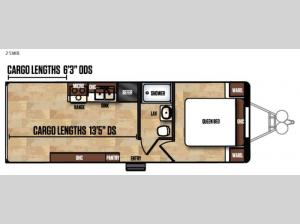 Work and Play Ultra LE 25WB Floorplan Image