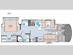 Windsport 31C Floorplan Image