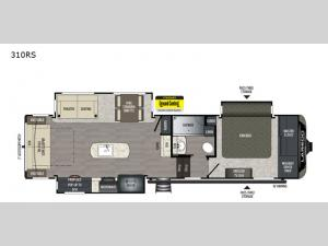 Laredo 310RS Floorplan Image