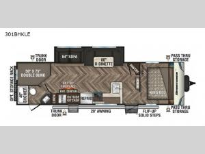 Sportsmen LE 301BHKLE Floorplan Image