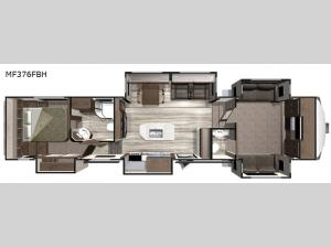 Mesa Ridge MF376FBH Floorplan Image