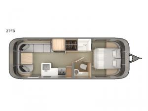 Globetrotter 27FB Floorplan Image