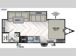 EVO Select 180SS Floorplan Image