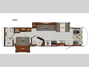 Georgetown 7 Series 36D7 Floorplan Image