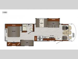 Georgetown 3 Series 33B3 Floorplan Image