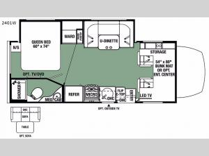 Forester MBS 2401W Floorplan Image