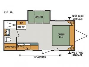 Escape E181RB Floorplan Image