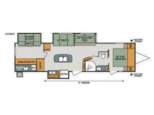 Spree S333BHK Floorplan Image
